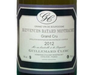 etiquette Montrachet  grand cru