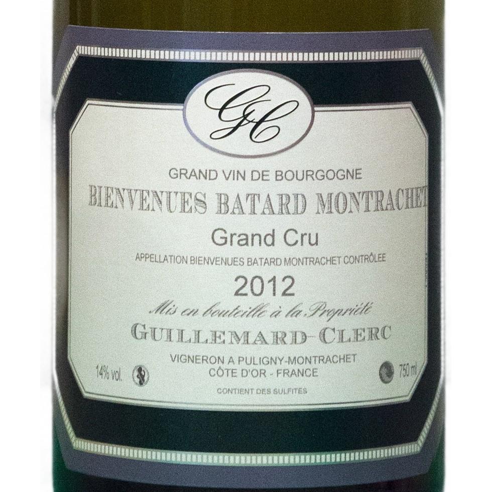 Montrachet grand cru label