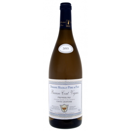 Beaune 1er Cru Blanc Cent Vignes 2015