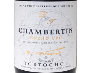 Label Chambertin grand cru