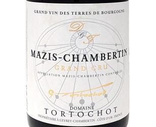 Label Mazis Chambertin