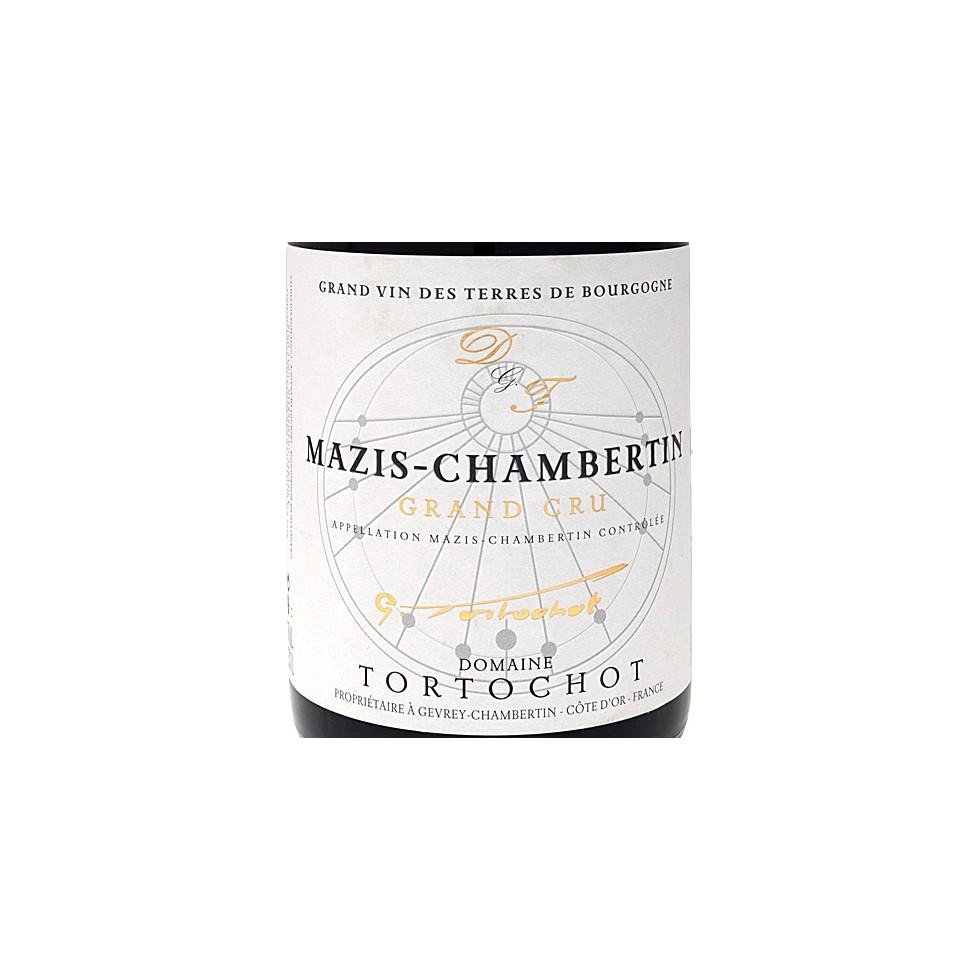 Etiquette Mazis Chambertin