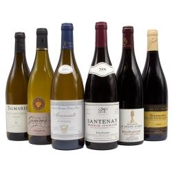 Assortiment wijn bourgogne