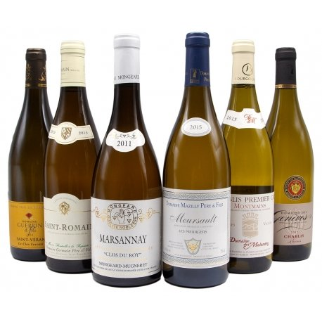 Assortiment Blancs de Bourgogne