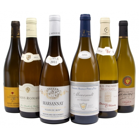 White Burgundy Wines Assortment