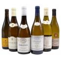 surtido de vino blanco de borgoña