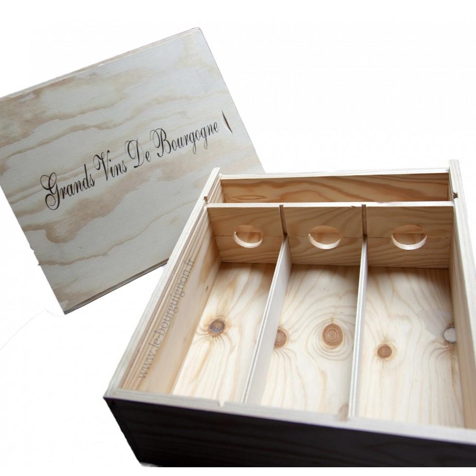 Geschenkbox Holz 1 Flasche