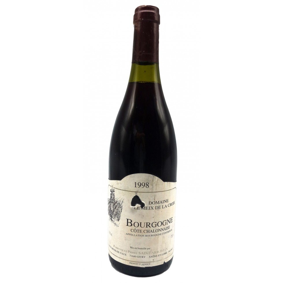 Mercurey rouge 1998