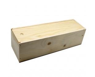 Caja de regalo de madera 1 botella