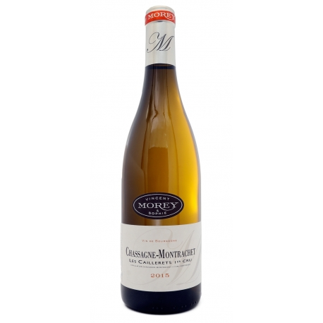 Chassagne-Montrachet 2015 1er Cru blanc Caillerets