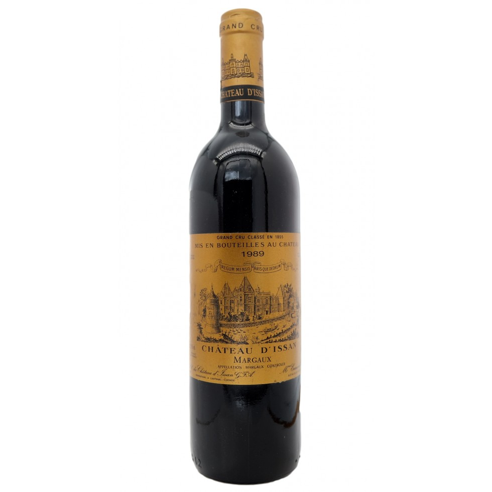 Margaux Grand Cru Classified 1989