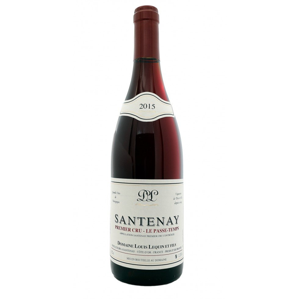 "Santenay 1er Cru 2015 red ""Pass-Time"""