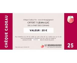 Chèque Cadeau vin