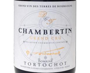 Label Chambertin grand cru