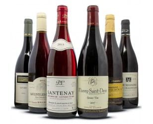 Bordeauxrode wijn gift geval