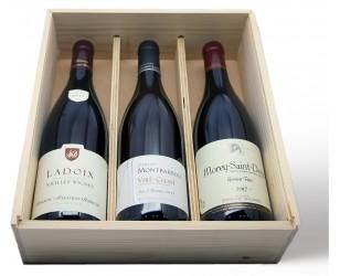 Geschenkbox 3 Flasche Burgunder Wein