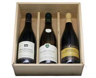 burgundy wine box fete des peres