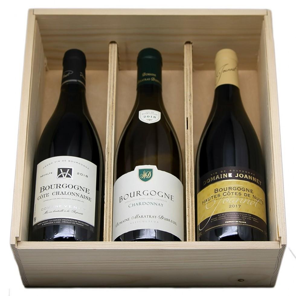 coffret vin bourgogne fete des peres