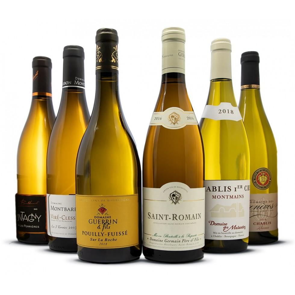 Sortiment Burgunder Weißweine