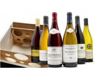 Caja de vino de Navidad