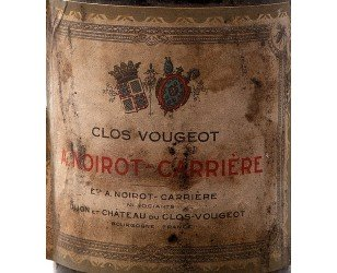 Label Clos De Vougeot