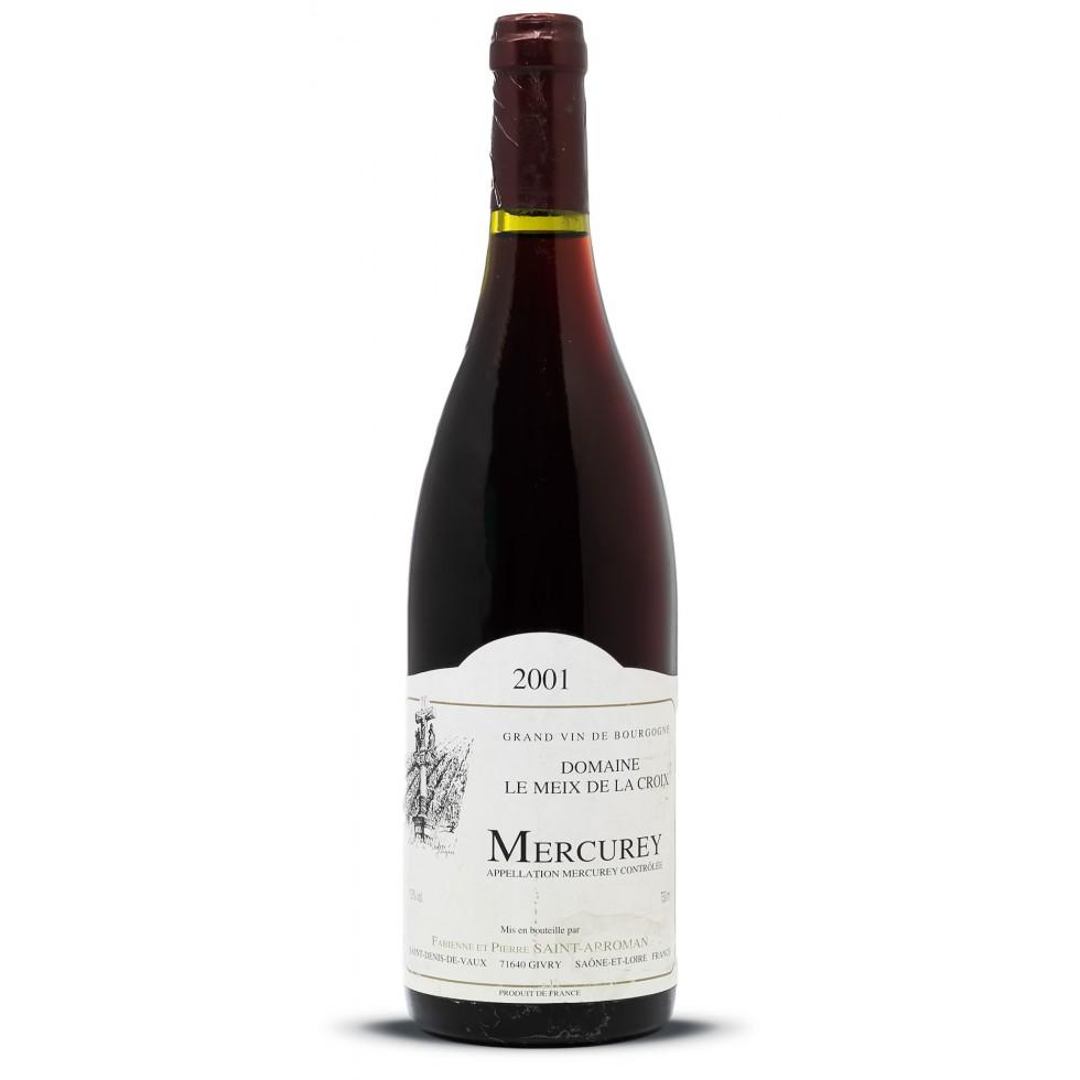 Mercurey 2001 vin année de naissance