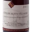 Etiquette Côte de Nuits Villages 2011