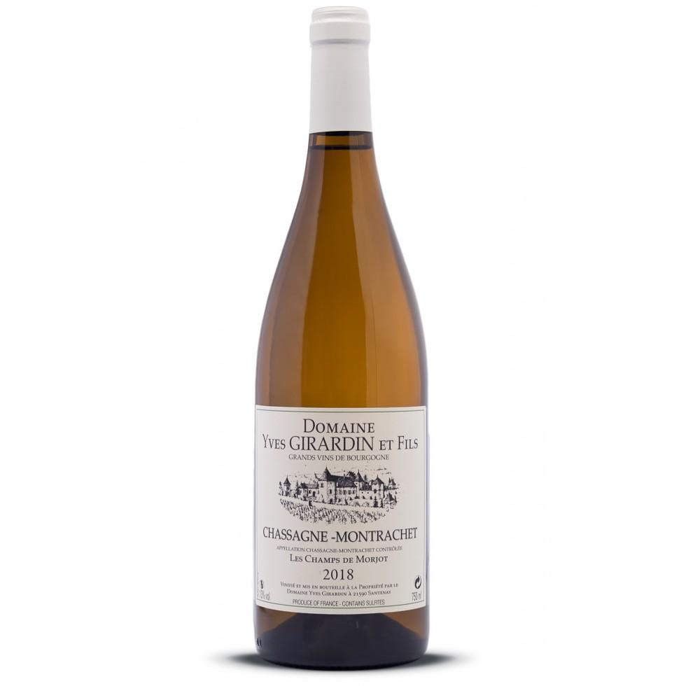 Chassagne-Montrachet blanco 2018