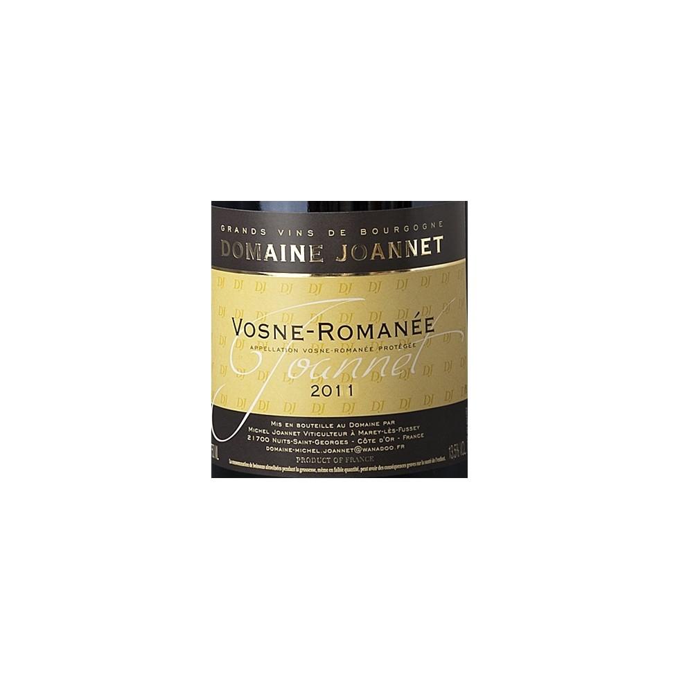 Etiquette Vosne Romanée 2011