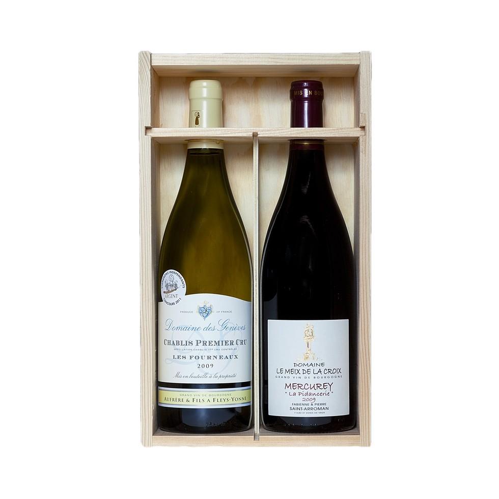 Caja de vino 2 botellas
