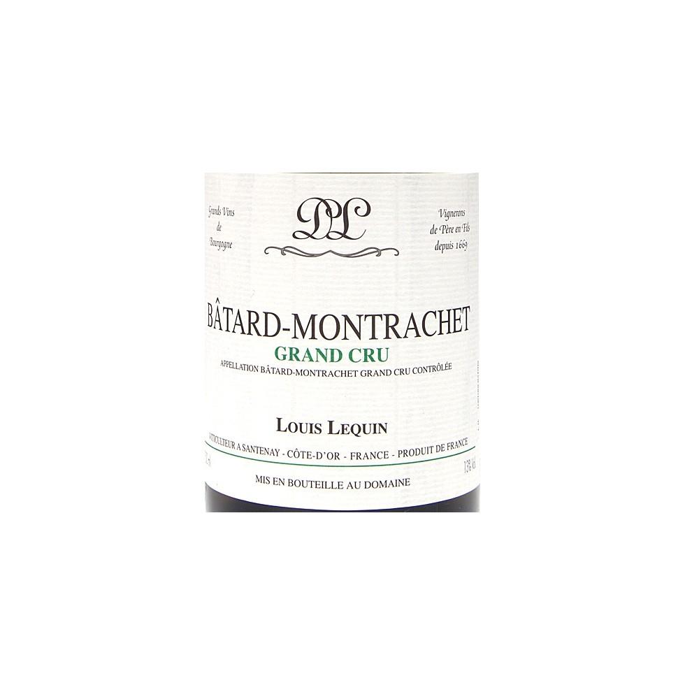 Label Batard Montrachet Grand Cru