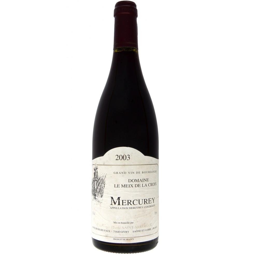 Vin Mercurey 2003