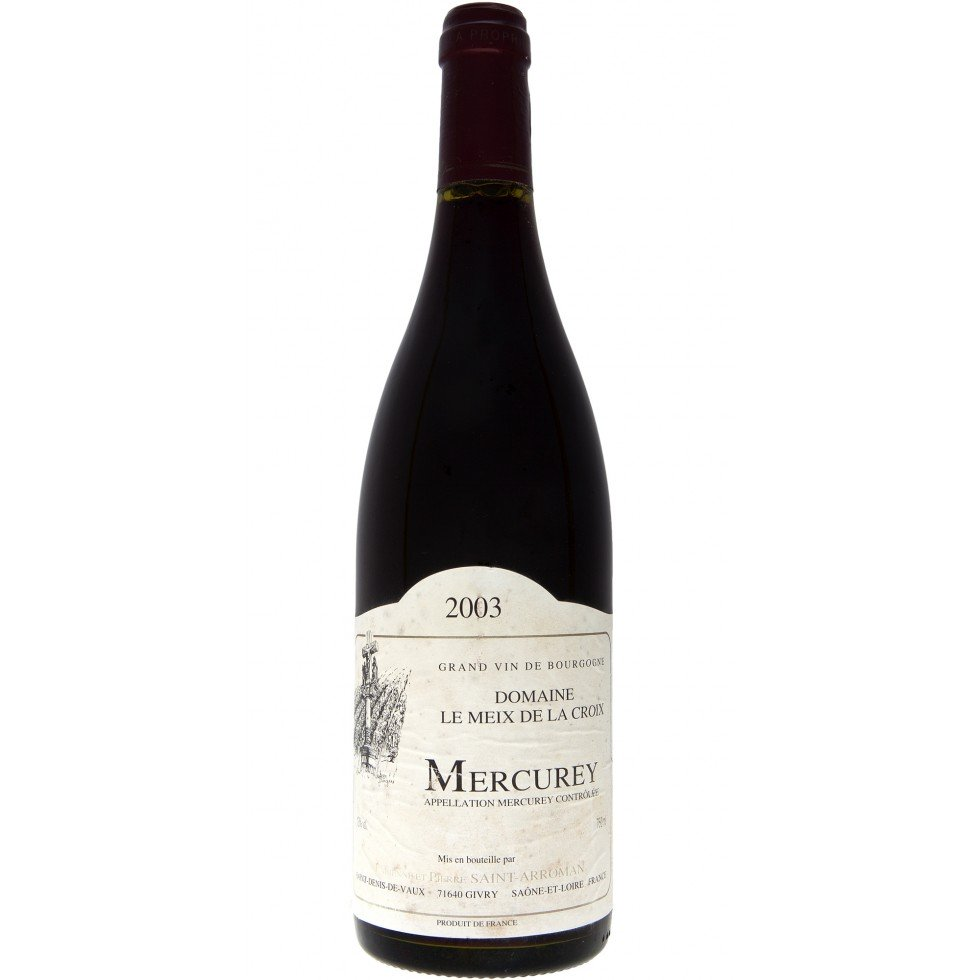 Wine Mercurey 2003