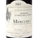 Etikett wein Mercurey 2003