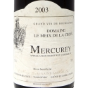 Label wine Mercurey 2003