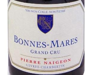 Label Bonnes Mares Grand Cru