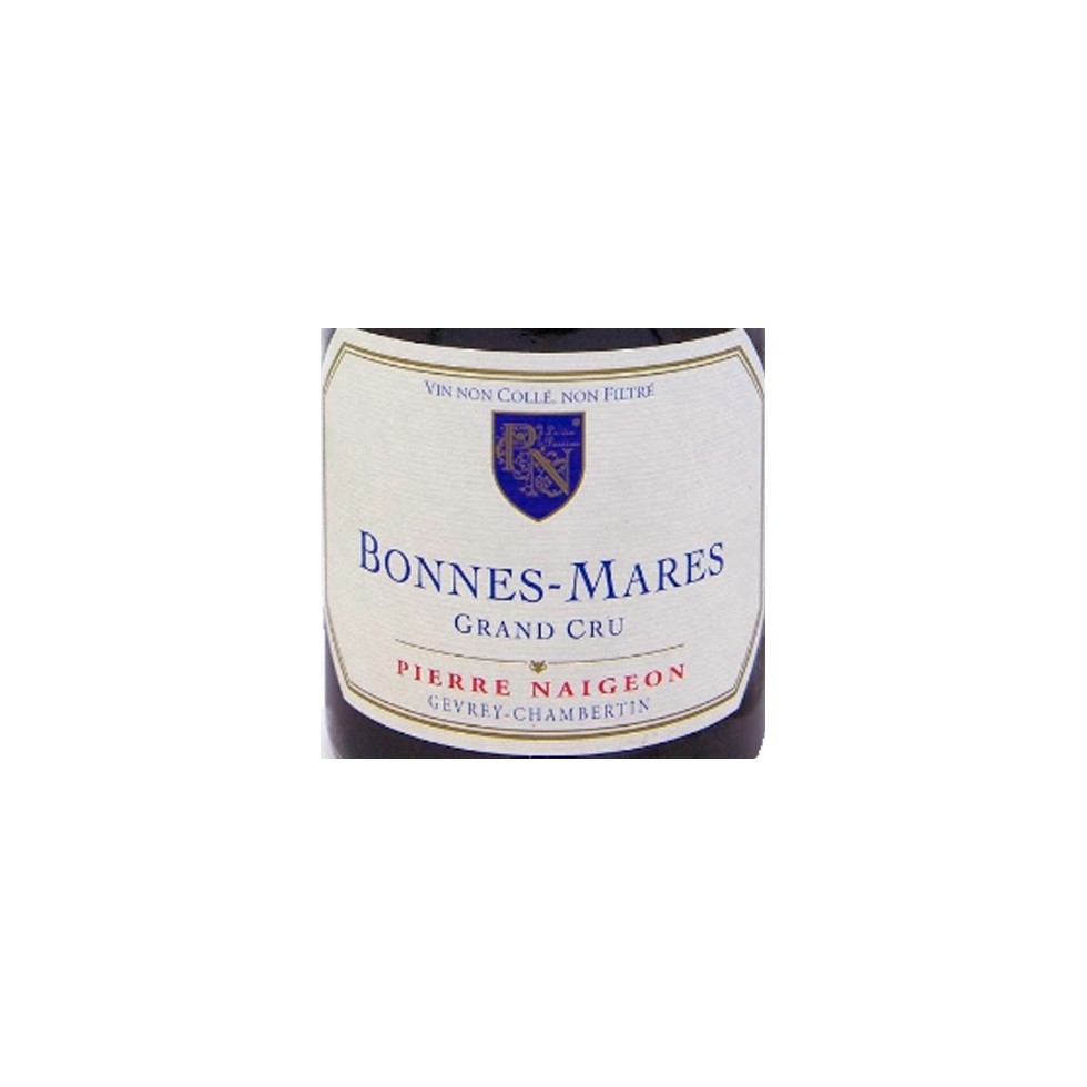Label Bonnes Mares Grand Cru