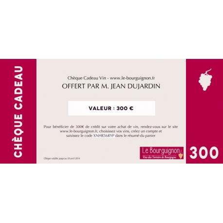 Gift voucher wine 300 €