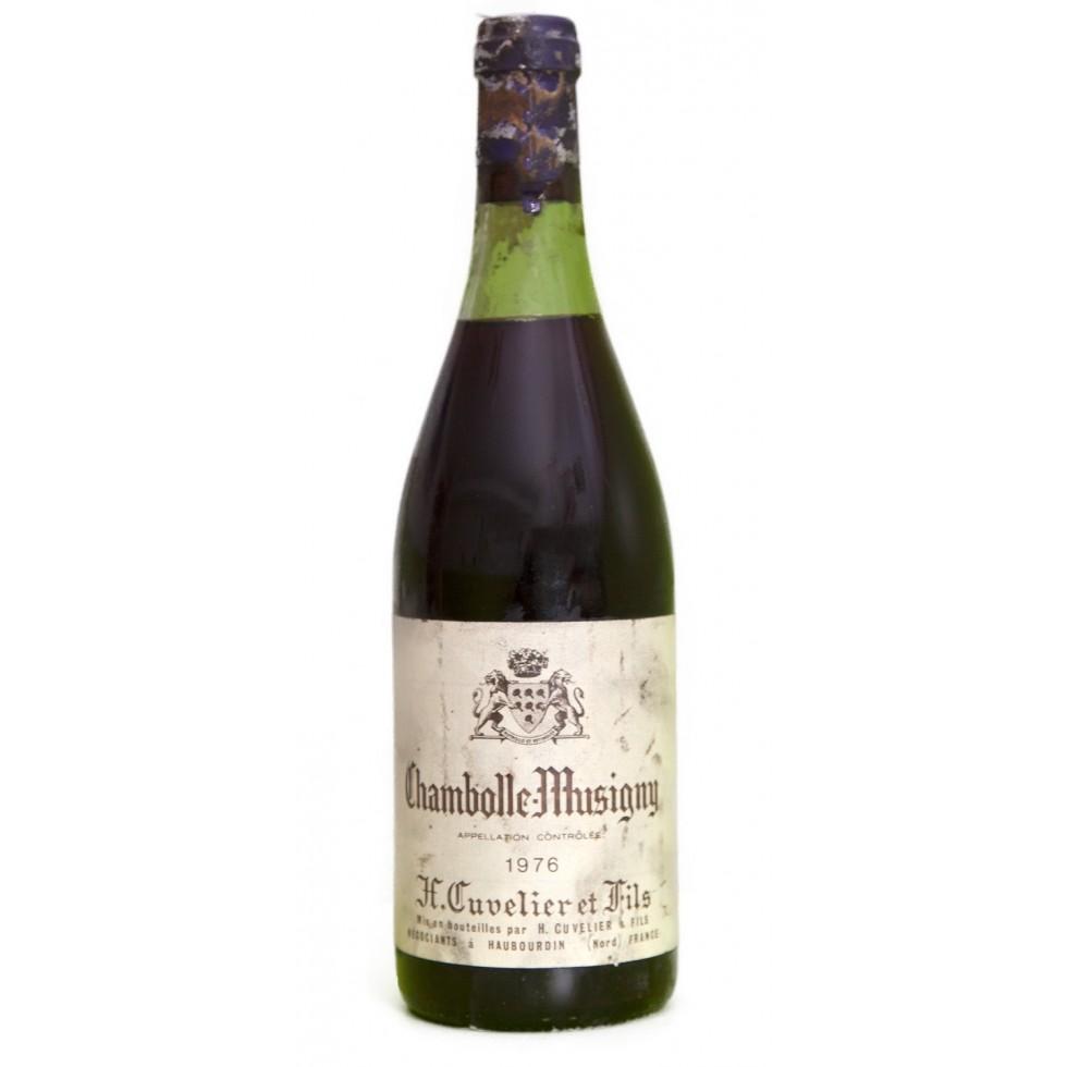 wijn bourgogne Chambolle Musigny 1976