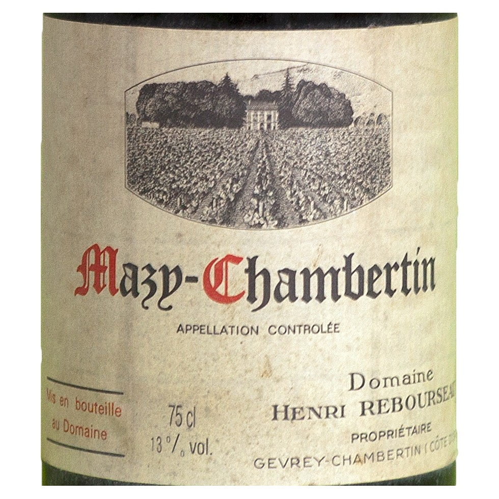 Label Mazy Chambertin