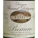 Etiquette vin Beaune 1990