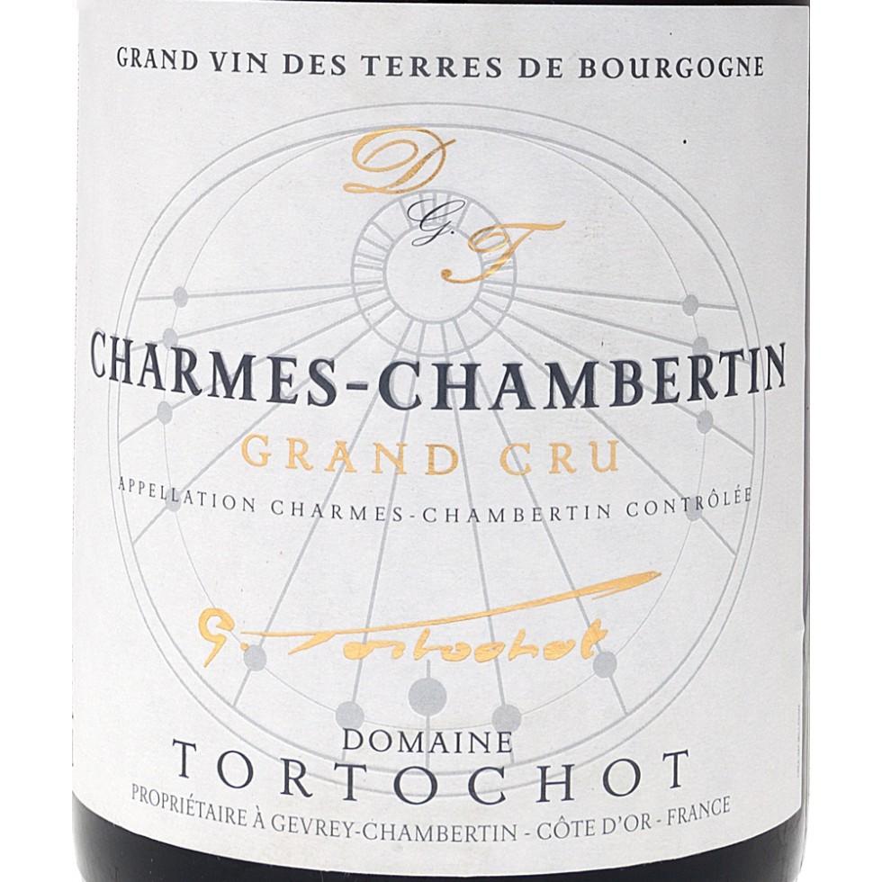 Label wijn Charmes-Chambertin