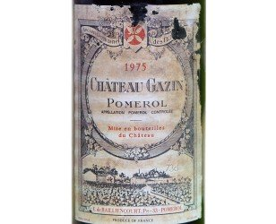 label Pomerol 1975