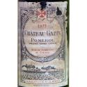 etiqueta de Pomerol 1975