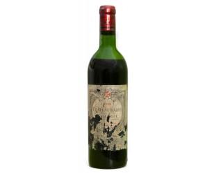 Botella de vino Pomerol 1966