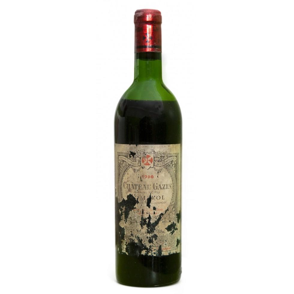 Bottle wine Pomerol 1966