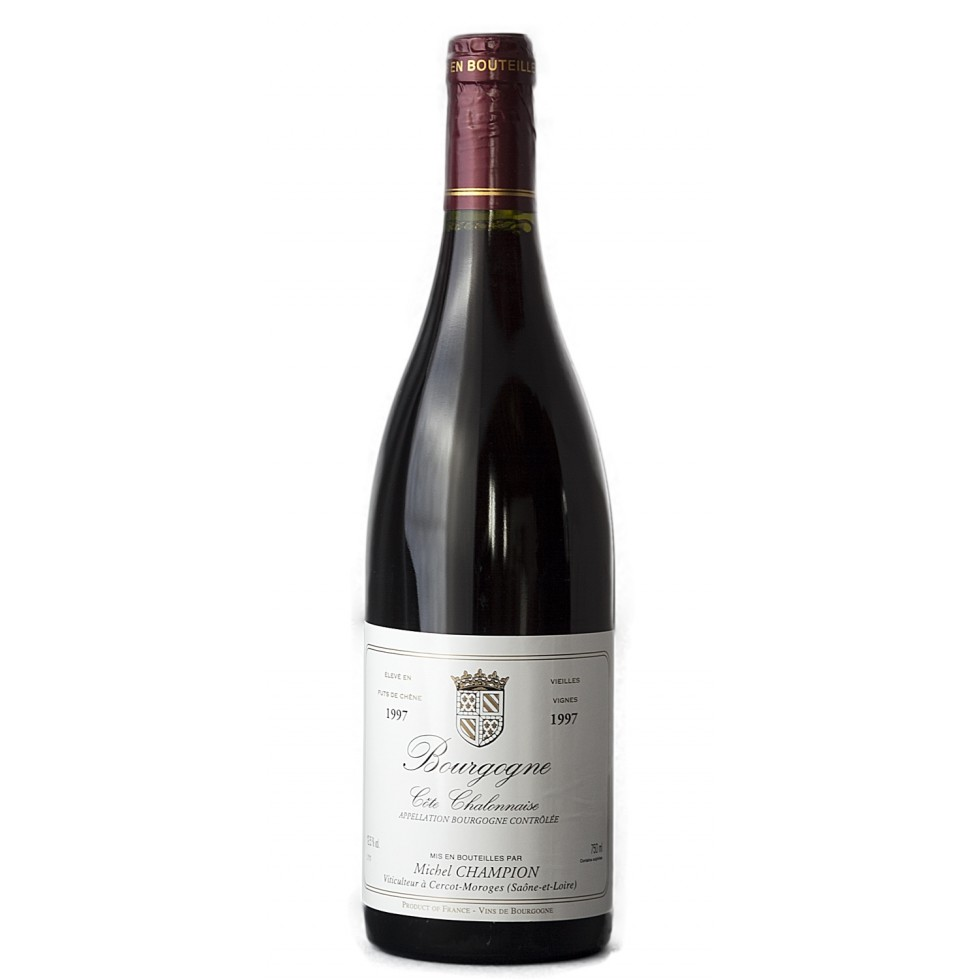 bouteille vin Bourgogne Rouge 1996