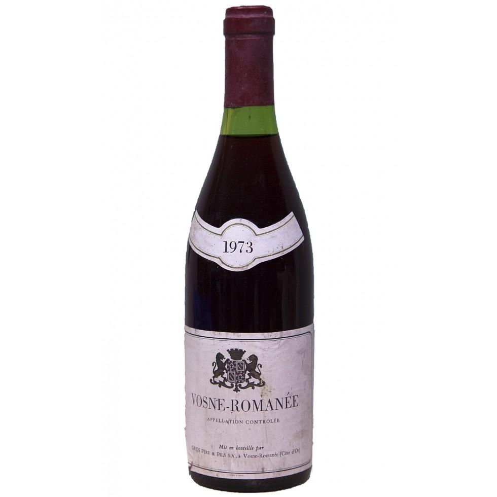 Bottle wine burgundy-Vosne Romanée 1973