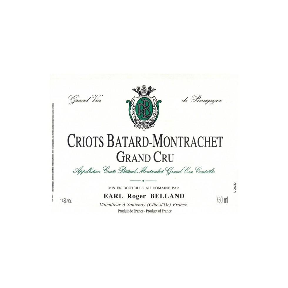 Criots Bâtard Montrachet grand cru 2009