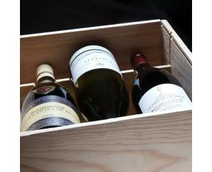 Caja de vino de borgoña
